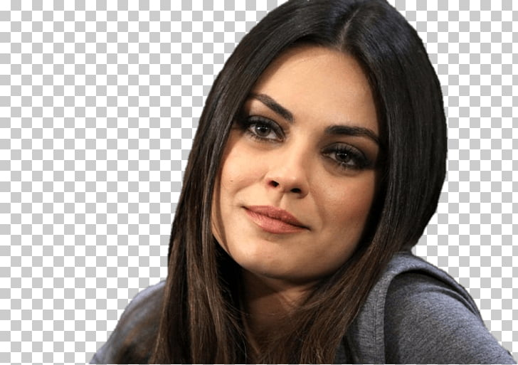 Mila kunis clipart graphic free Mila Kunis Sweet, woman wearing gray shirt PNG clipart ... graphic free