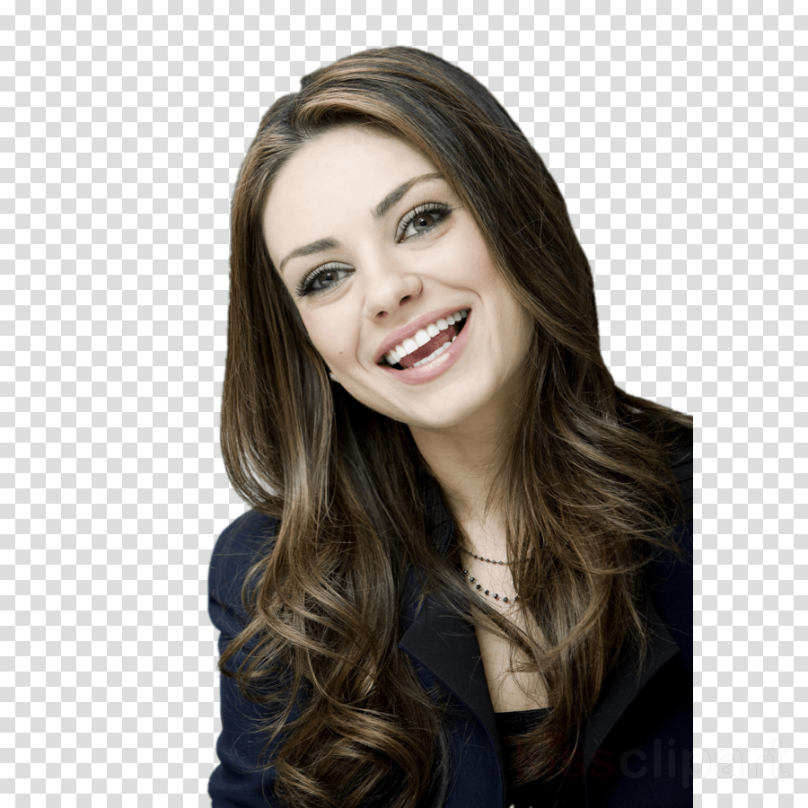 Mila kunis clipart png transparent Color Background clipart - Hair, Beauty, Smile, transparent ... png transparent