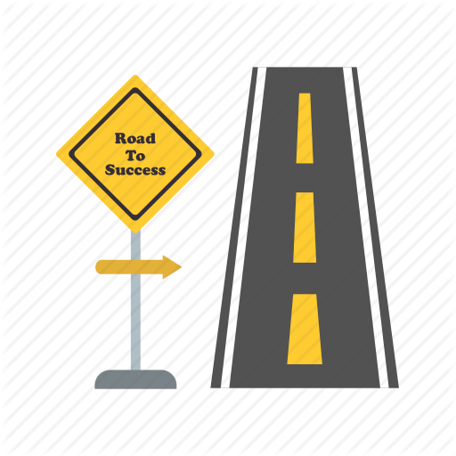 Mile clipart freeuse Yellow Background clipart - Road, transparent clip art freeuse