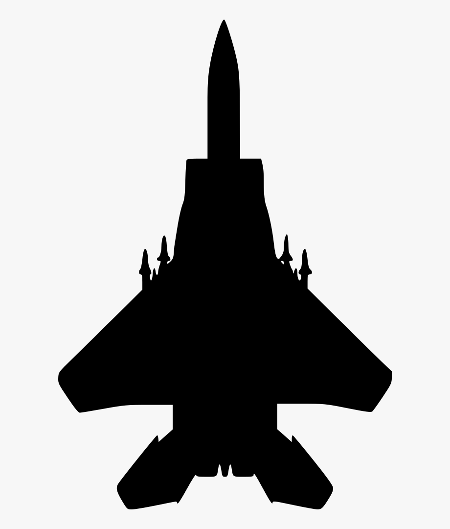 Military airplane clipart picture library stock Military Aircraft Clipart - Fighter Jet Silhouette, Cliparts ... picture library stock