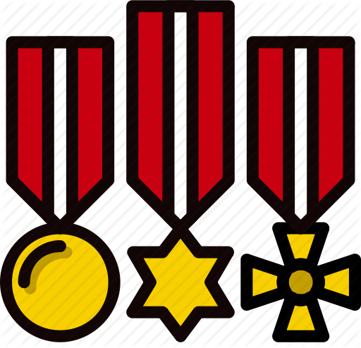 Military badges clipart clip art royalty free library \'Smashicons Badges & Army - Retro - Vol 2\' by Smashicons clip art royalty free library