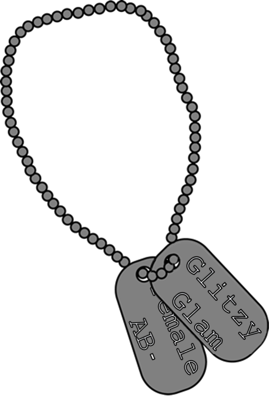 Military dog tag clipart png black and white stock Dog Tag Clipart Png ✓ All About Clipart png black and white stock