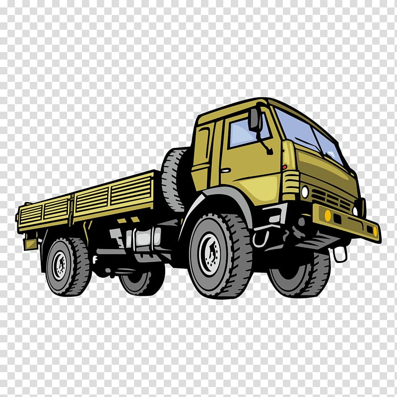 Military dump truck clipart image Car Commercial vehicle Jeep Dodge Truck, Military trucks ... image