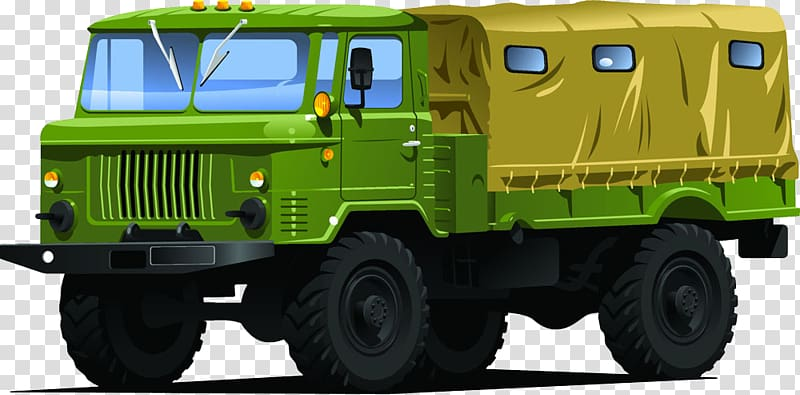 Military dump truck clipart svg freeuse Car Military vehicle Truck Army, Cartoon painted military ... svg freeuse