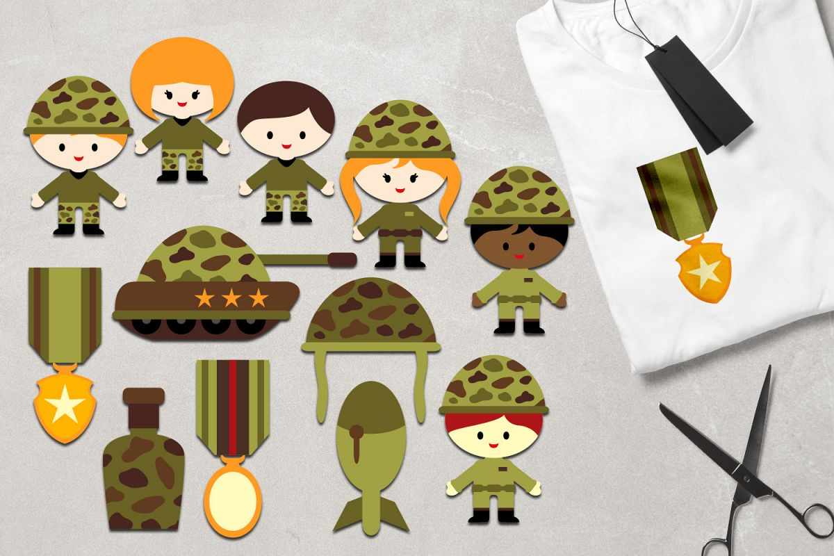 Military graphics clipart png freeuse library Military clipart army kids, soldier, tank, medals graphics png freeuse library