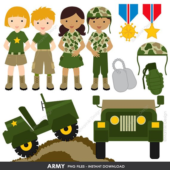 Military graphics clipart vector freeuse stock Army Clipart, Military vector graphics, Patriot Digital Clip ... vector freeuse stock