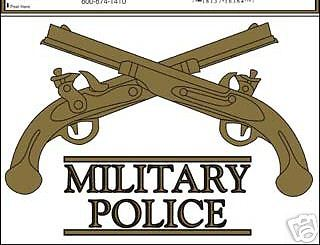 Military police clipart image library stock ARMY MILITARY POLICE CROSSED PISTOLS CAR WINDOW DECAL | eBay image library stock
