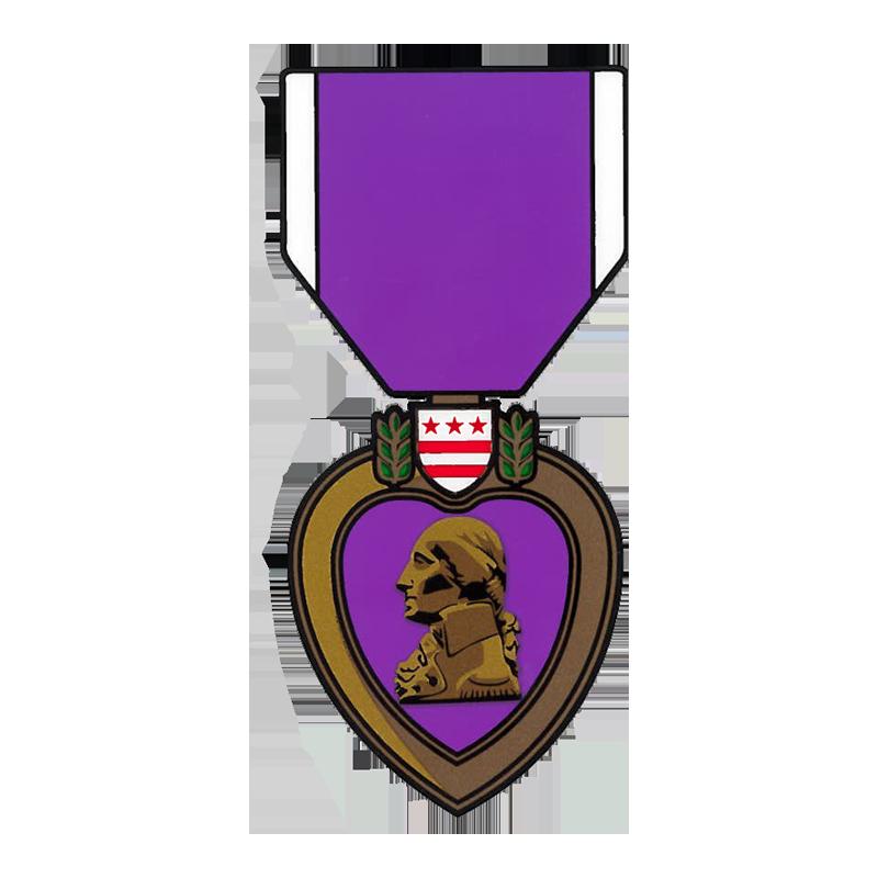 Military purple heart clipart jpg free library Purple Heart Decal | The Marine Shop jpg free library
