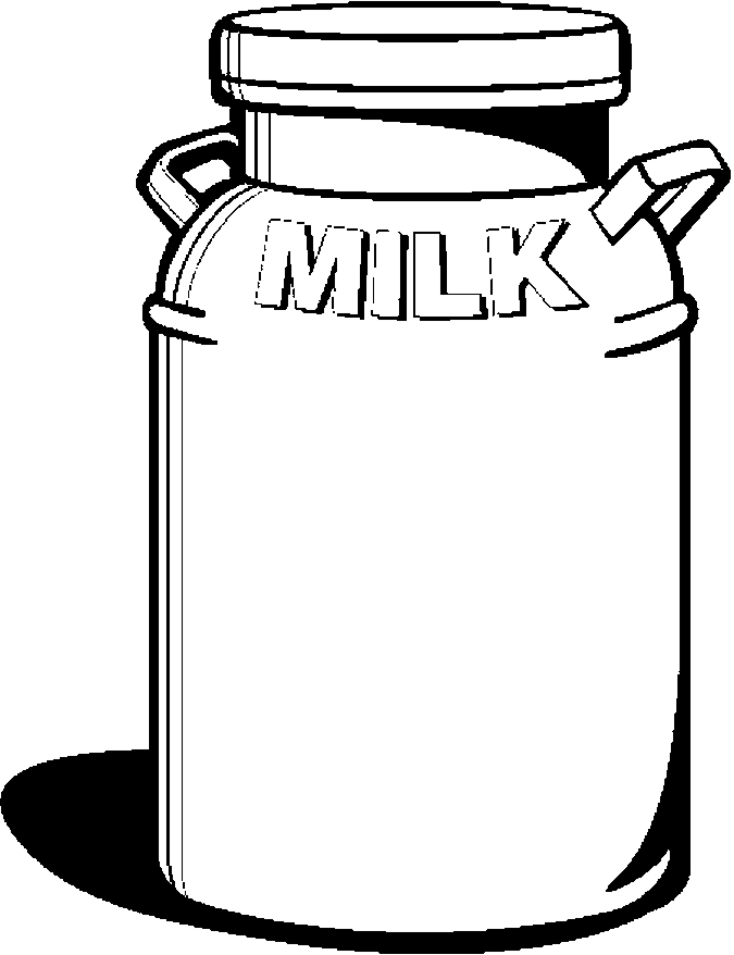 Milk can clipart image free library Milk can clipart 4 » Clipart Station image free library