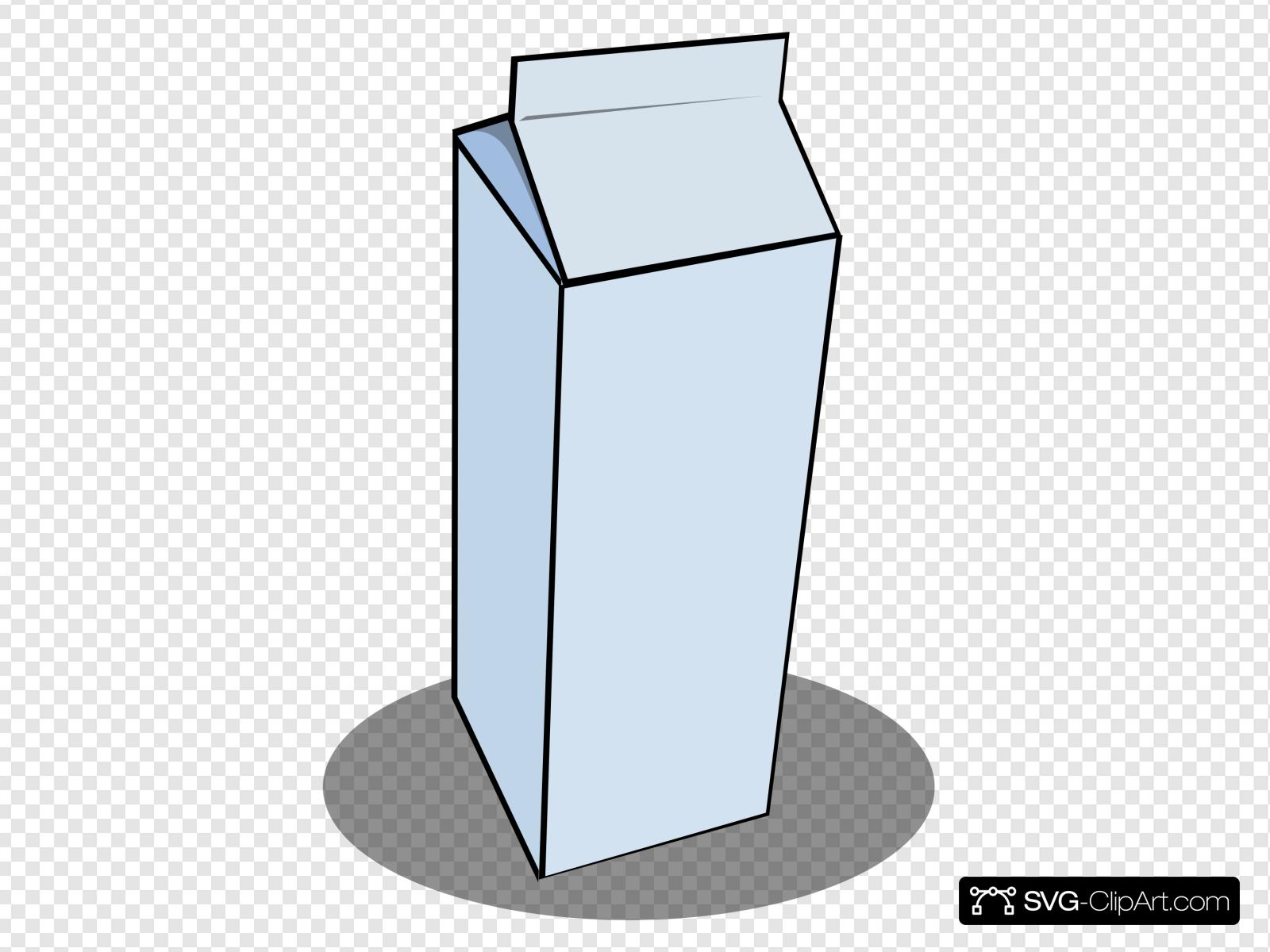 Milk carton clipart free library Milk Carton Clip art, Icon and SVG - SVG Clipart free library