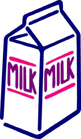 Milk carton clipart picture black and white stock Clip Art Milk Carton | Clipart Panda - Free Clipart Images picture black and white stock