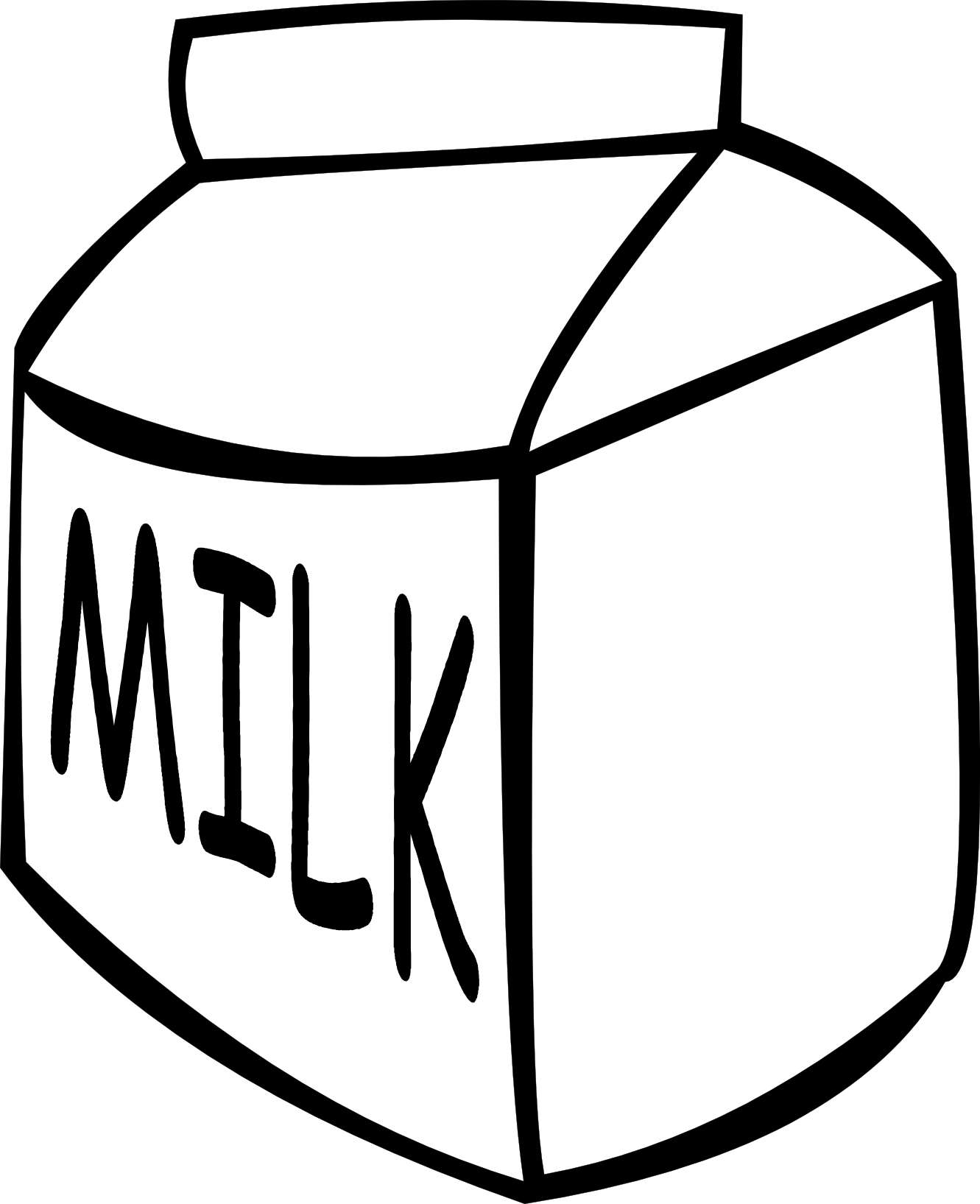 Milk cartoon clipart png library library Glass of milk cartoon clipart images gallery for free ... png library library