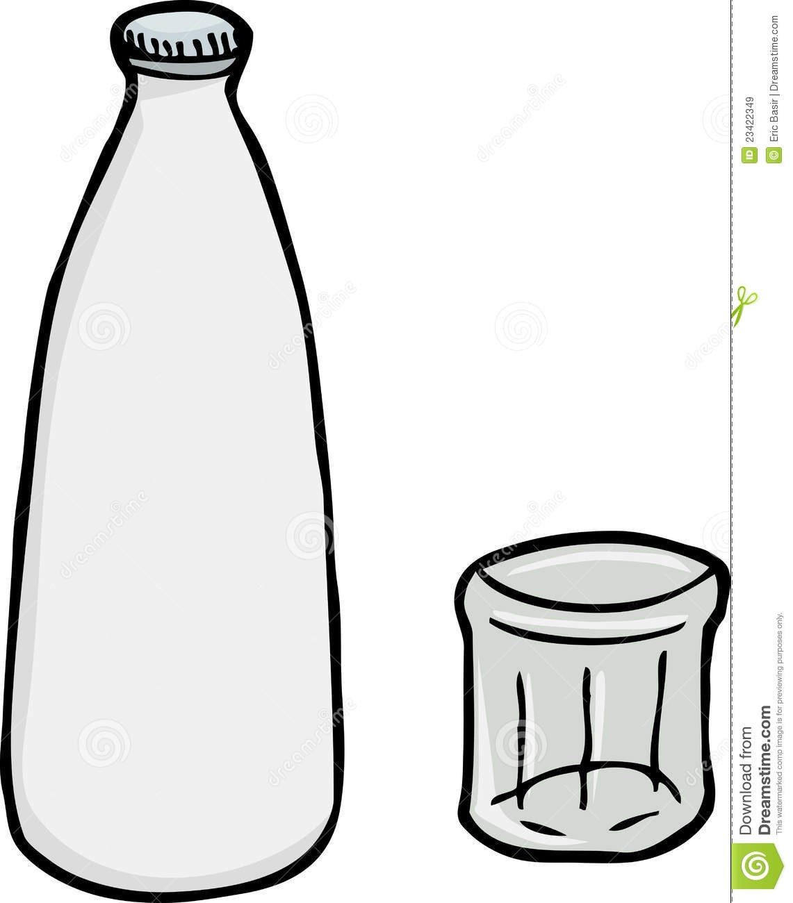 Milk glass bottle clipart clipart royalty free library With Clipart Of Milk Glass Bottle 23422349 | Clip Art clipart royalty free library