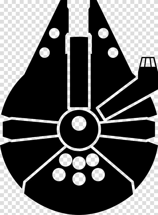Millenium falcon clipart png free Han Solo Millennium Falcon Yoda Star Wars: The Clone Wars ... png free