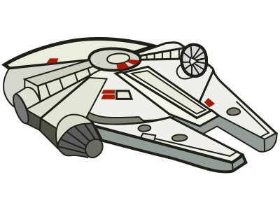Millenium falcon clipart graphic library library Download for free 10 PNG Millennium clipart ship Images With ... graphic library library