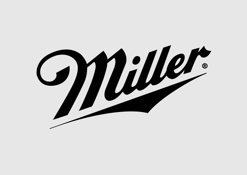 Miller beer logo clipart