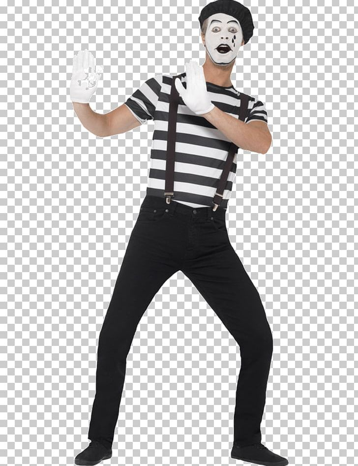 Mime artist clipart svg free T-shirt Costume Party Mime Artist Clothing PNG, Clipart ... svg free