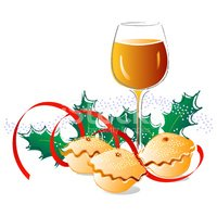 Mince pie clipart clip free download Sherry and Mince Pies stock vectors - Clipart.me clip free download