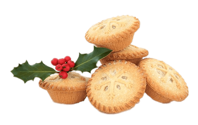 Mince pie clipart image free Christmas Themed Mince Pies transparent PNG - StickPNG image free
