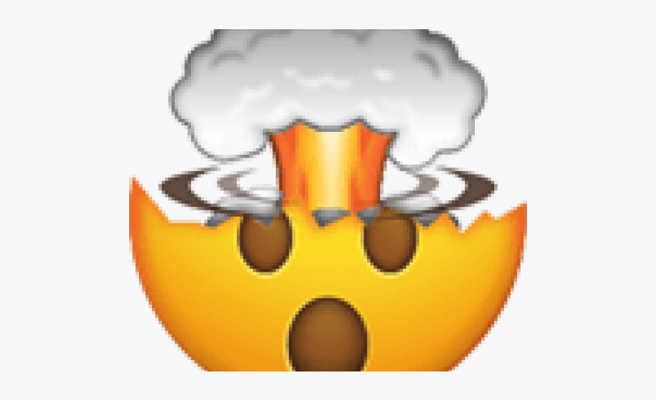 Mind blown clipart jpg library stock Explosion Clipart Emoji - Emoji Mind Blown Png #113880 ... jpg library stock
