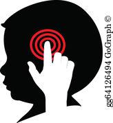 Mind control clipart svg transparent stock Mind Control Clip Art - Royalty Free - GoGraph svg transparent stock