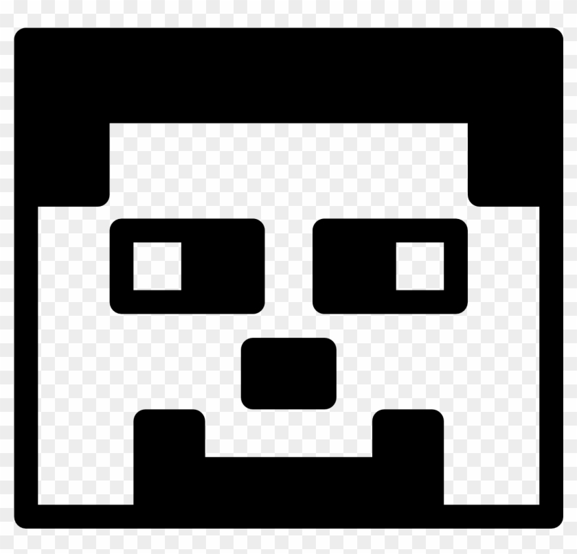 Minecraft clipart black and white image library Black And White Minecraft Clipart, HD Png Download ... image library
