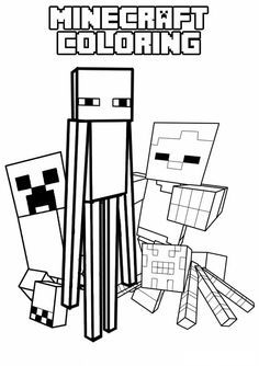 Minecraft black and white clipart clip art black and white library Minecraft black and white clipart 3 » Clipart Portal clip art black and white library