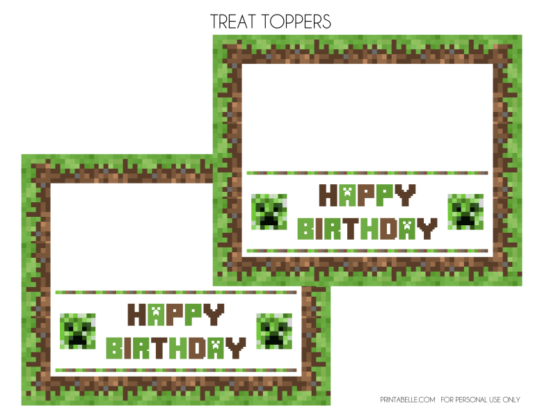 Minecraft book clipart image free download FREE Minecraft Printables | Catch My Party image free download