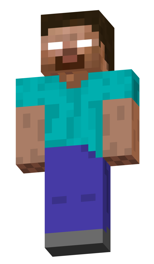 Minecraft house clipart graphic Herobrine | Pinterest | Minecraft characters, Jay and Characters graphic