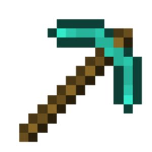 Minecraft diamond pickaxe clipart jpg free download Free Minecraft Diamond Pickaxe Png, Download Free Clip Art ... jpg free download