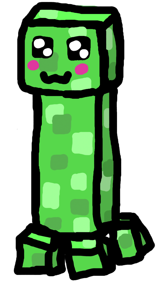 Minecraft fish clipart image library stock Minecraft Characters Creeper Face. Awesome Minecraft Characters ... image library stock