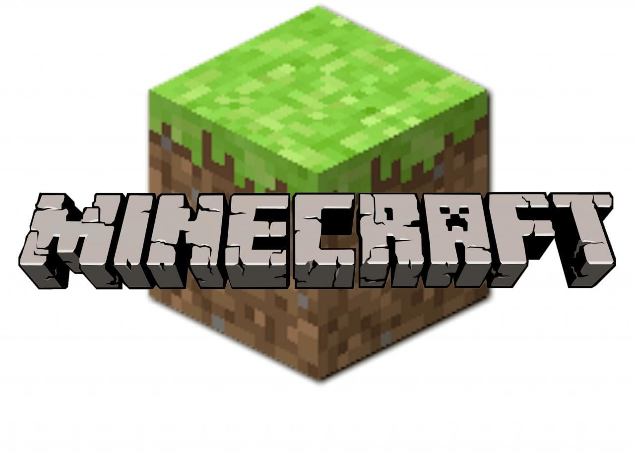 Minecraft grass block clipart banner library download Minecraft logo clipart - ClipartFest banner library download