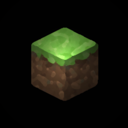 Minecraft grass block clipart png black and white grassblock - DeviantArt png black and white