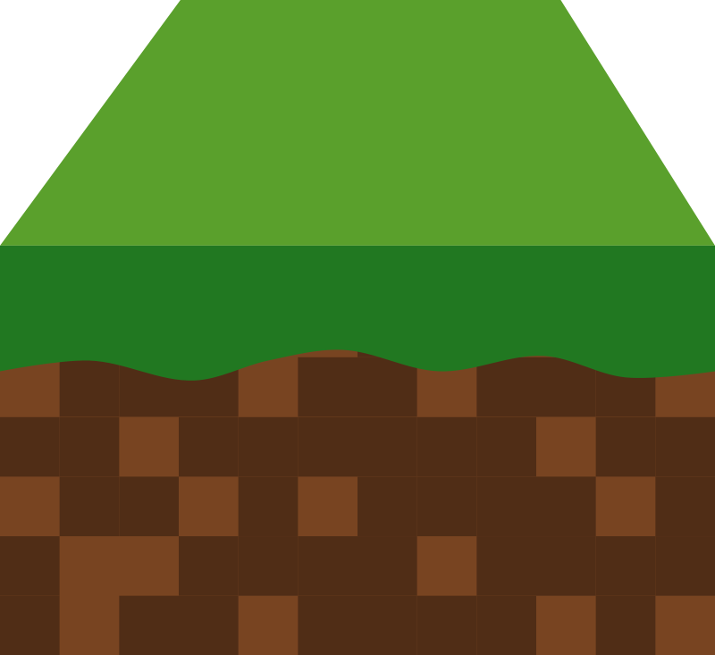 Minecraft grass block clipart png black and white library Minecraft block clipart - ClipartFox png black and white library