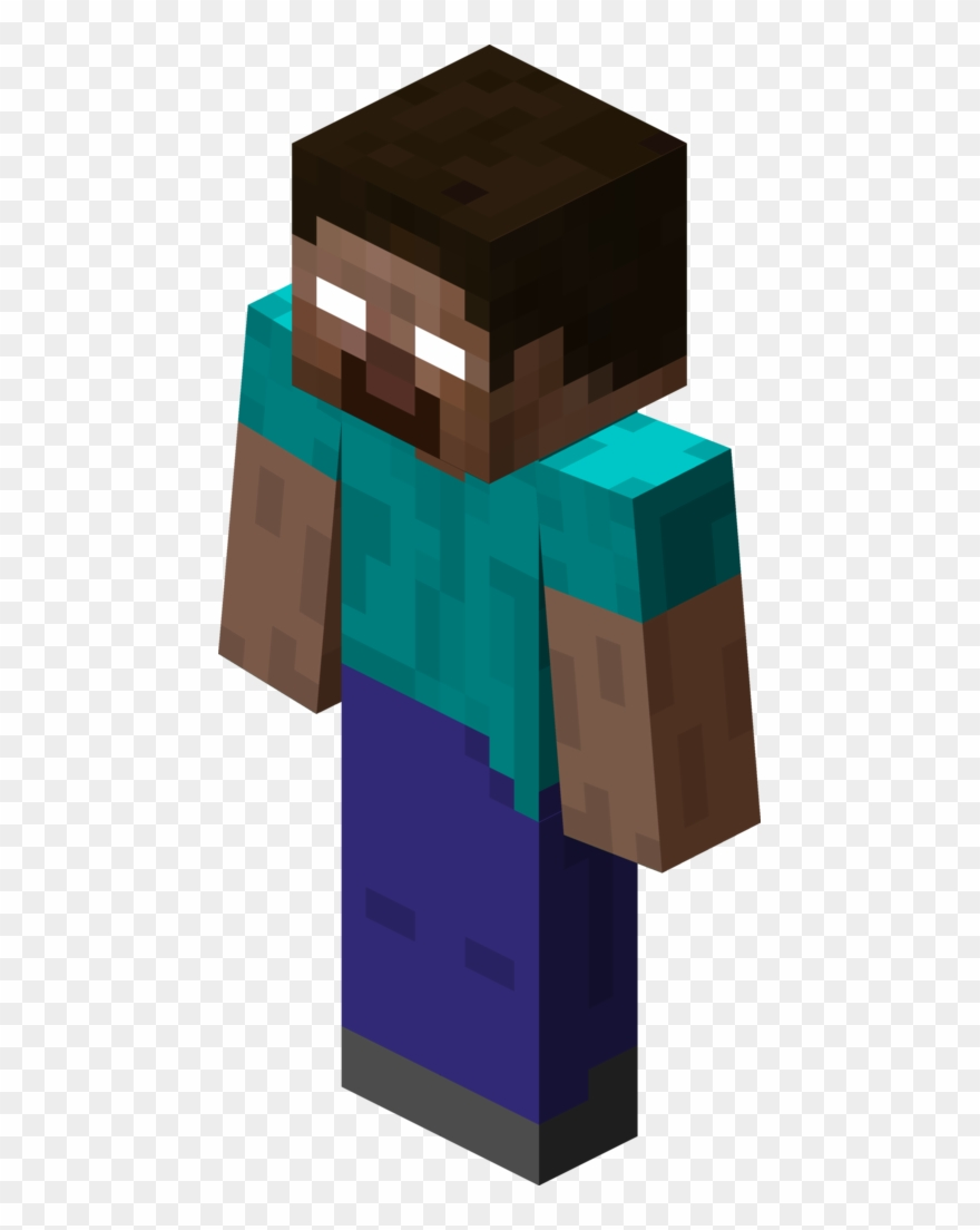 Minecraft herobrine skin clipart file clipart freeuse download File - Steve - Herobrine Png Clipart (#1740870) - PinClipart clipart freeuse download