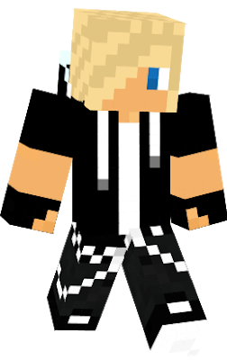 Minecraft kid with blonde hair and sunglasses clipart picture free download blond | Nova Skin picture free download