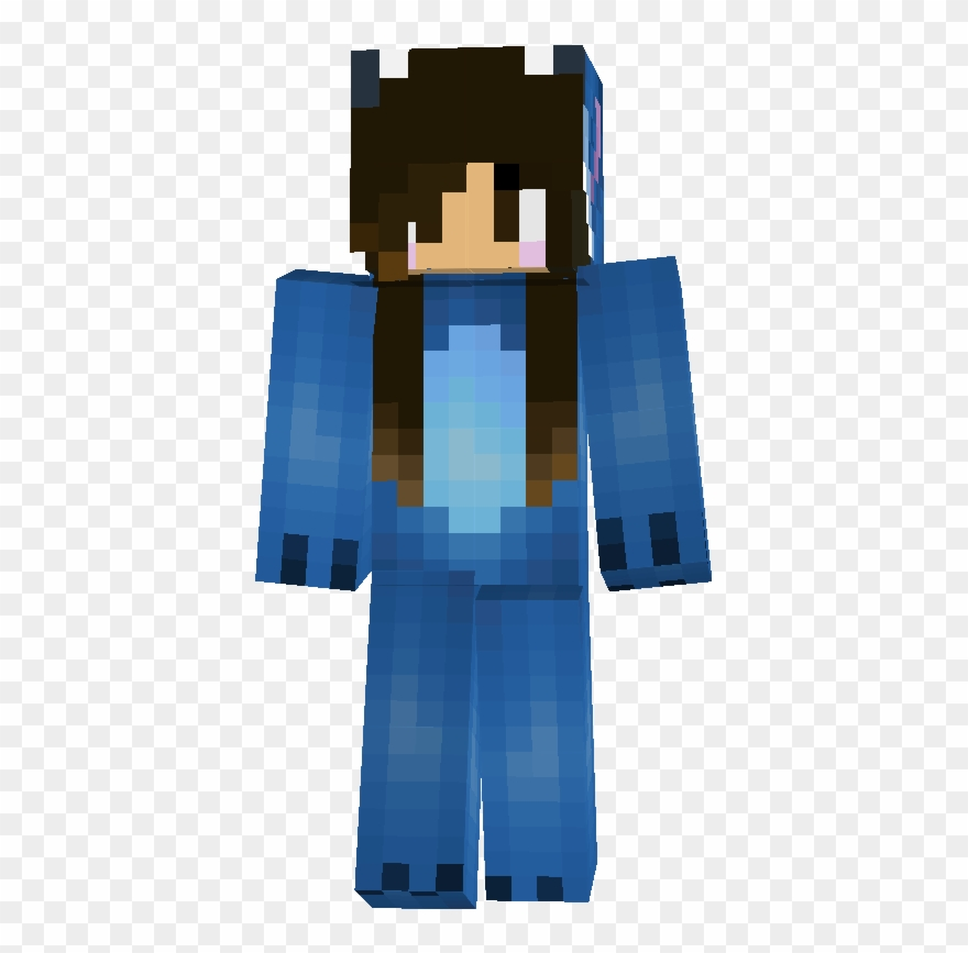 Minecraft skin clipart png royalty free library Free Tiger Onesie Minecraft Skin - Skin Minecraft Fille ... png royalty free library