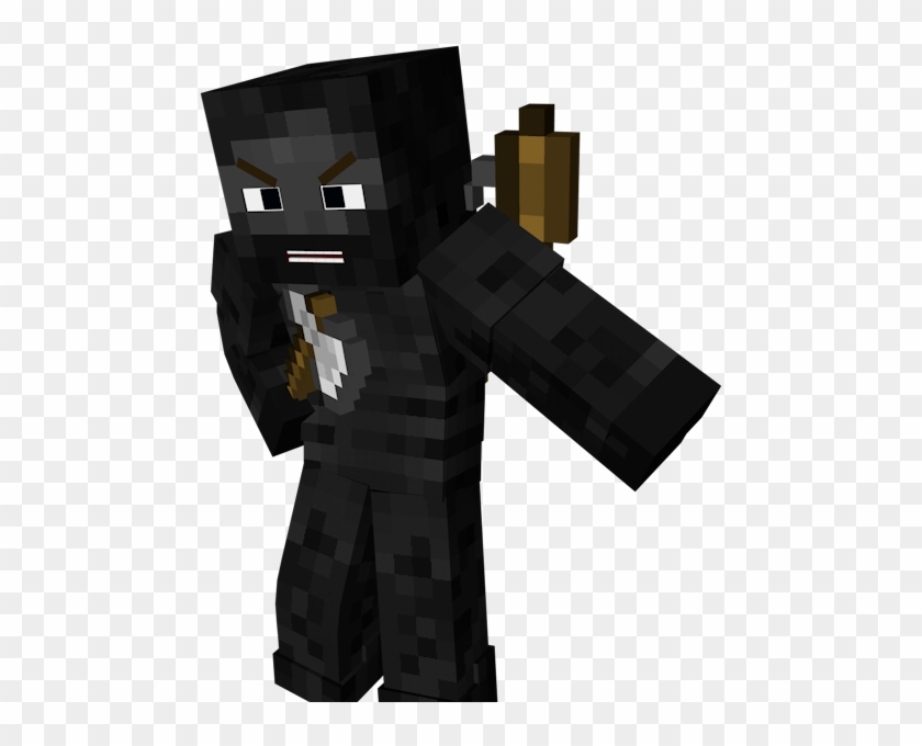 Minecraft skin clipart png library Minecraft Clipart Minecraft Skin - Wither Skeleton Render ... png library