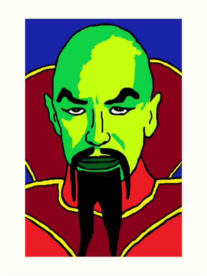 Ming the merciless clipart banner transparent \'Ming the Merciless\' Art Print by meggykins37 banner transparent