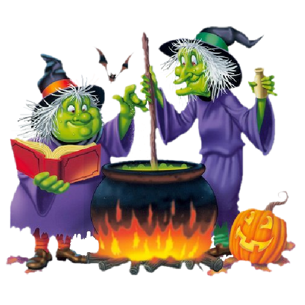 Mini halloween clipart png black and white library Mini Halloween Plays for Young Learners – Tim's Free English Lesson ... png black and white library