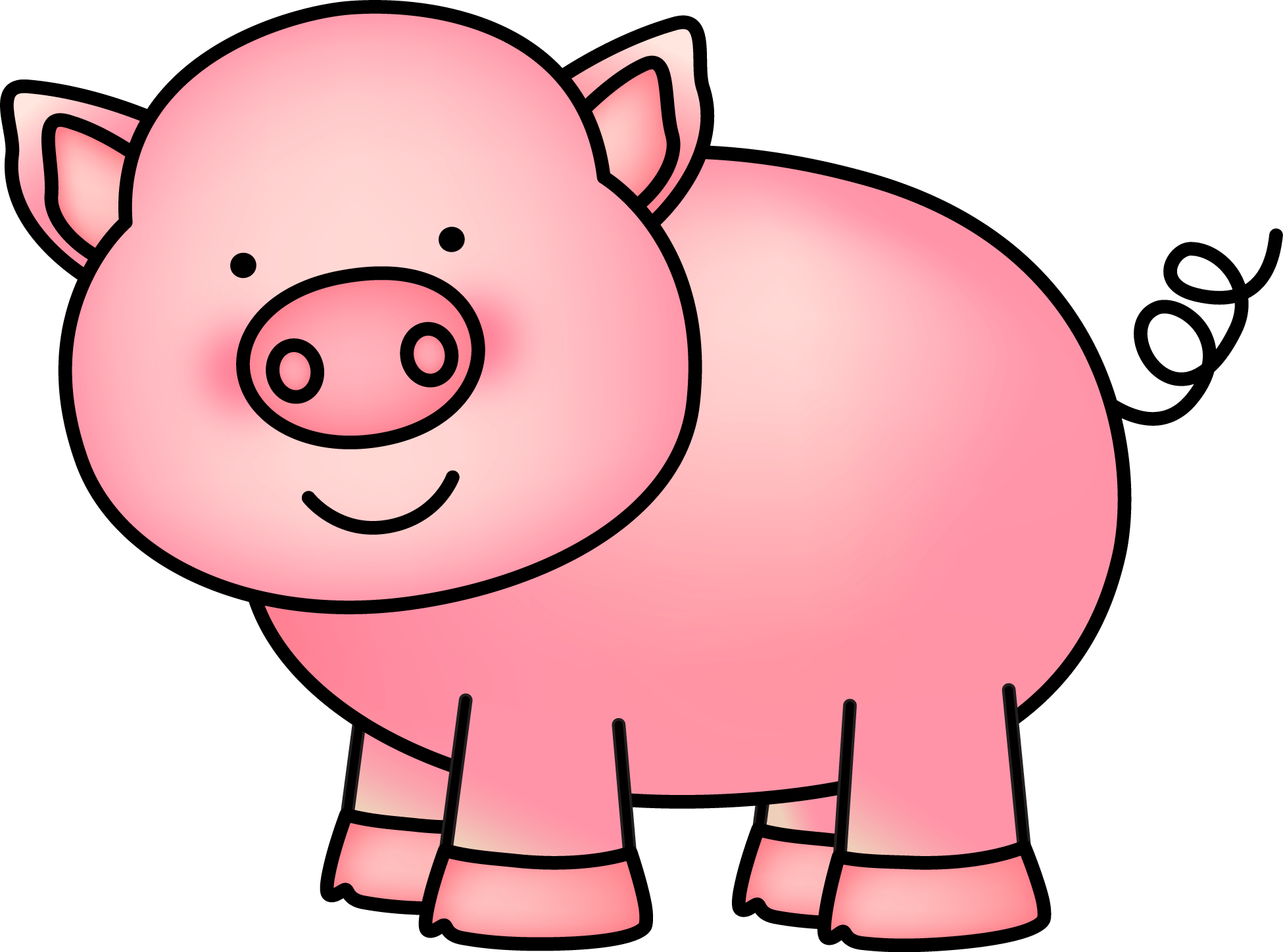 Mini pig pumpkin clipart clip art transparent stock hog • Kindergarten Nation clip art transparent stock
