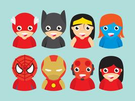 Mini super heroes cliparts gratis png freeuse library Superhero Free Vector Art - (6,108 Free Downloads) png freeuse library
