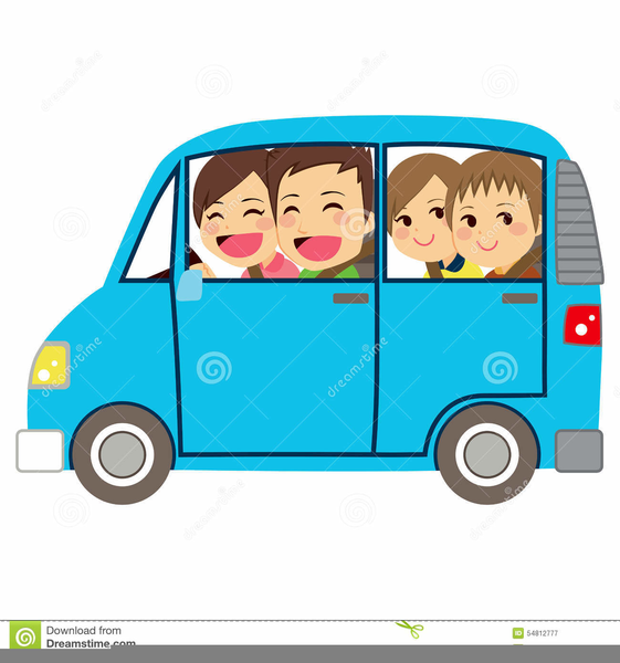 Mini van clipart svg transparent stock Family Minivan Clipart | Free Images at Clker.com - vector ... svg transparent stock