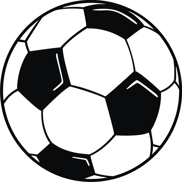 Miniature soccer ball clipart jpg black and white Picture Of Small Soccer Ball - ClipArt Best jpg black and white
