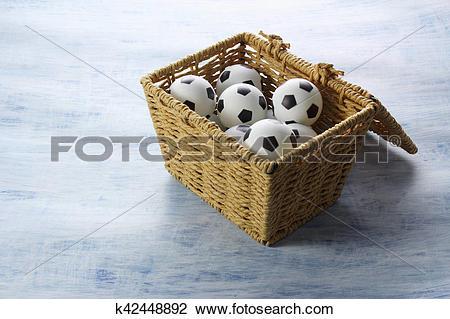 Miniature soccer ball clipart clipart Stock Photo of Miniature Soccer Balls k42448892 - Search Stock ... clipart