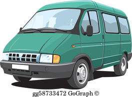 Minibus clipart free picture stock Minibus Clip Art - Royalty Free - GoGraph picture stock