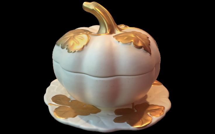 Minimal pumpkin clipart graphic free download Viyet - Designer Furniture - Accessories - Tony Duquette Matte ... graphic free download