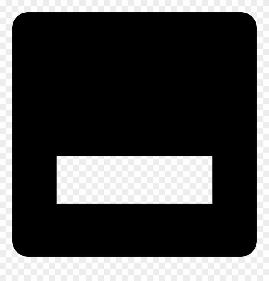 Minimize button clipart png transparent stock Png File - Minimize Button Black And White Clipart (#582556 ... png transparent stock