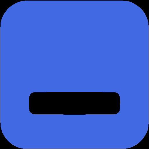 Minimize button clipart svg freeuse library Button Icon clipart - Window, Button, Blue, transparent clip art svg freeuse library
