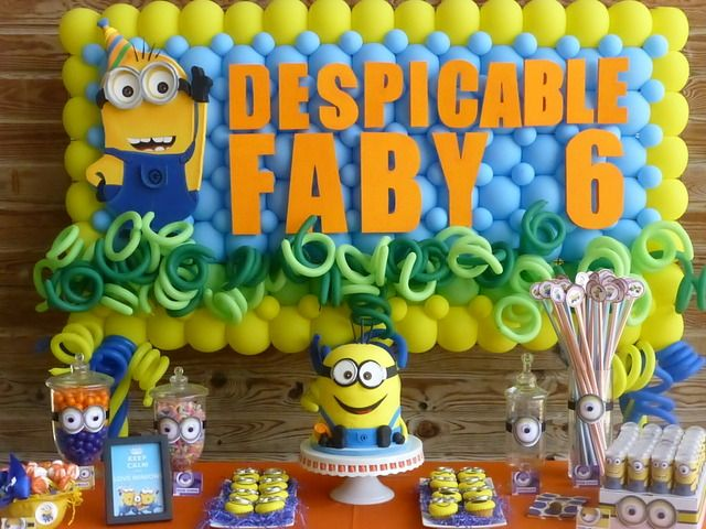 Minion birthday cake clipart clip art free stock 17 Best images about Despicable Me / Minion Party Ideas on ... clip art free stock